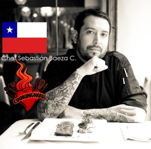 Chef Sebastián Baeza