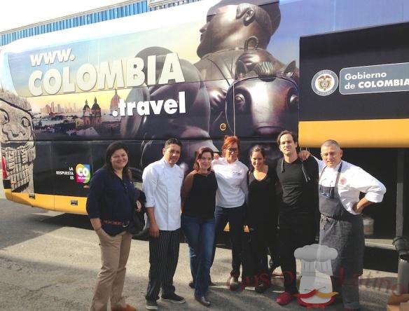 El equipo colombiano que nos representó en la Feria de Sevilla
