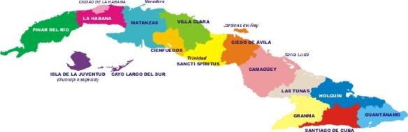 Cortesía de www.mapa-de-cuba.blogspot.com