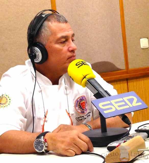 Carlos Yanguas en entrevista