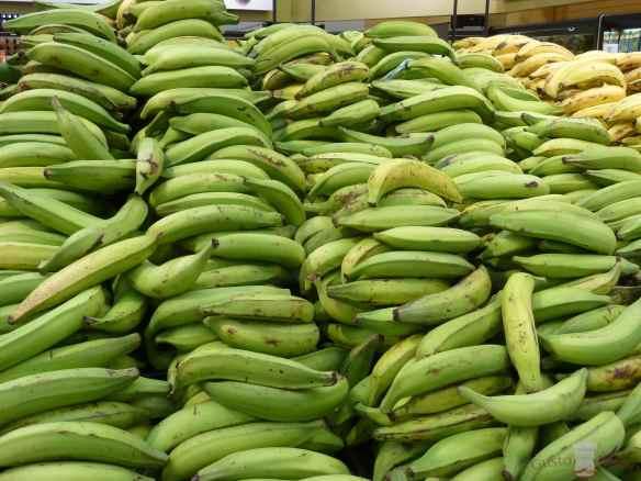 Plátano verde de freír