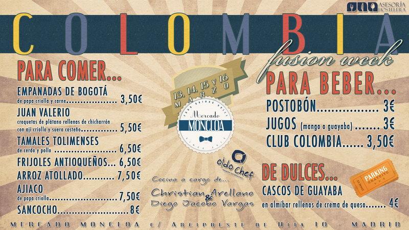 Fusion week de comida colombiana en madrid un viaje - Restaurante colombianos en madrid ...