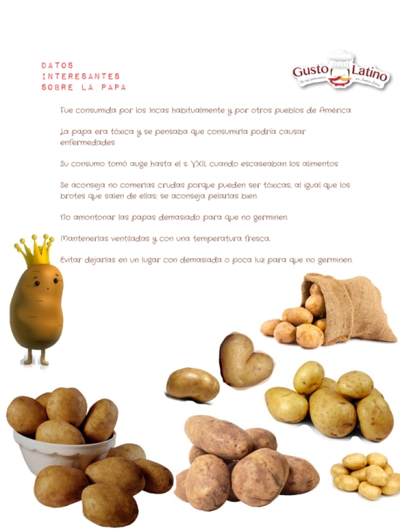 Otros datos patata