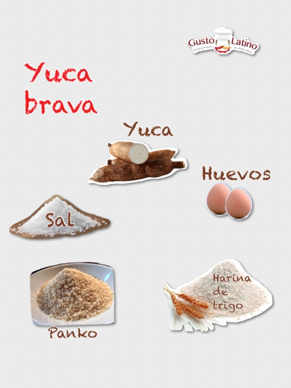 Yuca brava ingredientes