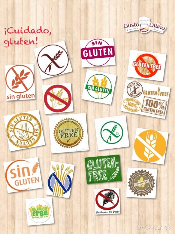 Sin gluten sello