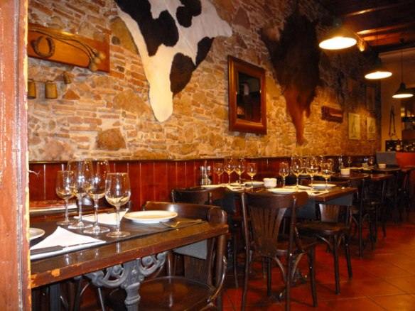 Restaurante Vacatada Barcelona Poblenou